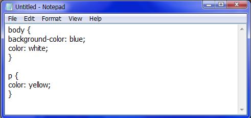 آموزش نحوه ایجاد فایل CSS